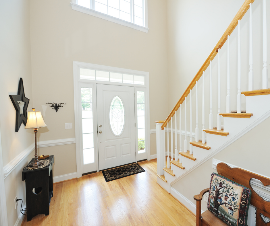 Decluttering your Entryways or Foyer